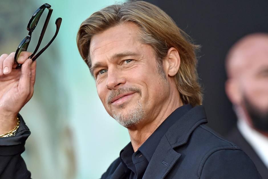 Brad Pitt, Taglio capelli Facile
